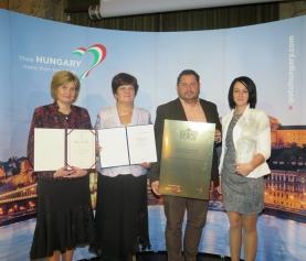 Virágos Magyarországért környezetszépítő verseny díj átadás