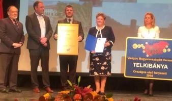 Virágos Magyarországért környezetszépítő verseny díjkiosztásáról készített fényképek